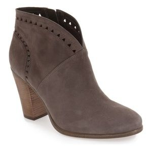 Vince Camuto Fritan Gray Ankle Boot Heels